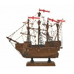 Modellino Mary Rose in legno - h 20 cm
