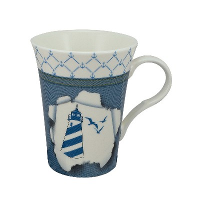 SC 3977 Tazza (Mug) - Design Faro in Porcellana Sea Club