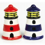 Set Fari Sale & Pepe in ceramica - H 8 cm