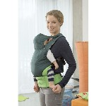 Marsupio porta bebè - Smart Carrier Ultra-light Green