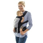 Marsupio porta bebè - Smart Carrier Black