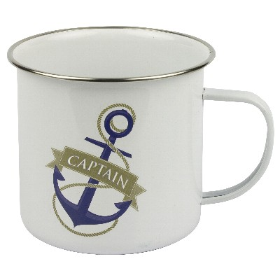 NA 6010 - Tazza mug in metallo smaltato - Captain